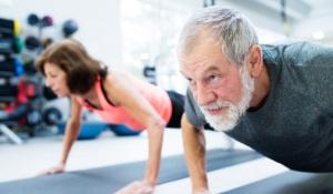 Άσκηση στο γυμναστήριο