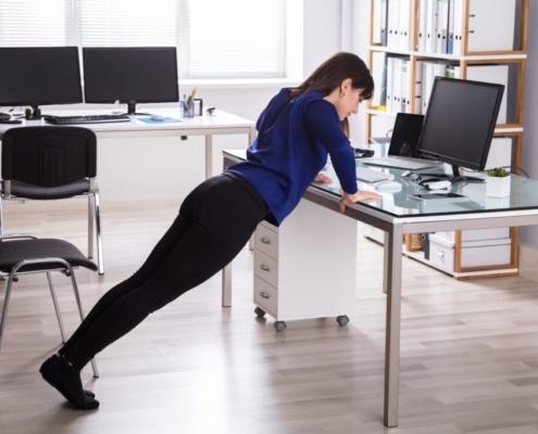 Άσκηση στο γραφείο