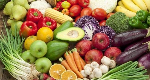 χρώματα στη διατροφή