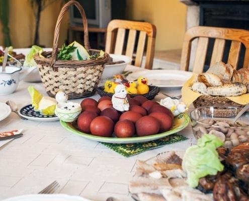 η διατροφή το Πάσχα